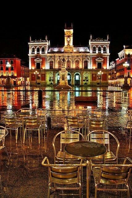 Plaza Mayor de Valladolid. España