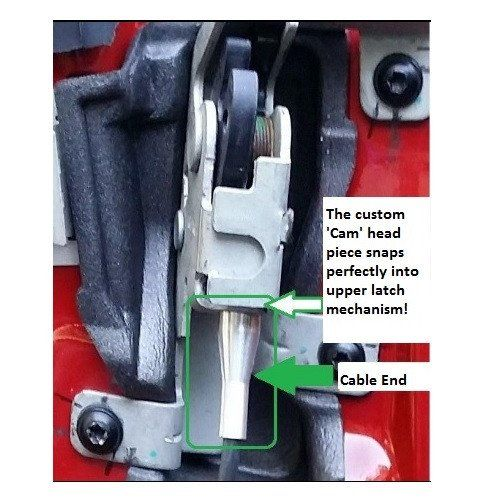 Use this kit to permanently fix the broken door cable and latch in your Ford Truck or Van F-150, F-250, F-350, E-150, E-250, Ranger, Expedition, Excursion, etc