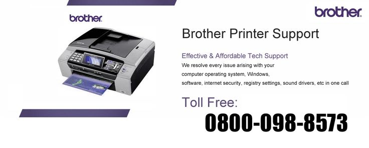 Get best tech support for Brother Printer 0800-098-8573 Toll-Free Helpline Number UK