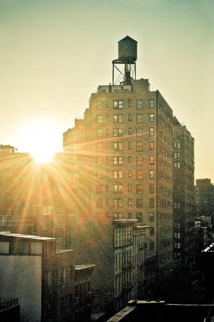 Sunrise over a New York skyline. #ArmitronMakeTime