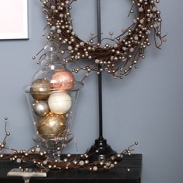 Pink Capiz Decor Ball in Pastels and Pearls Christmas