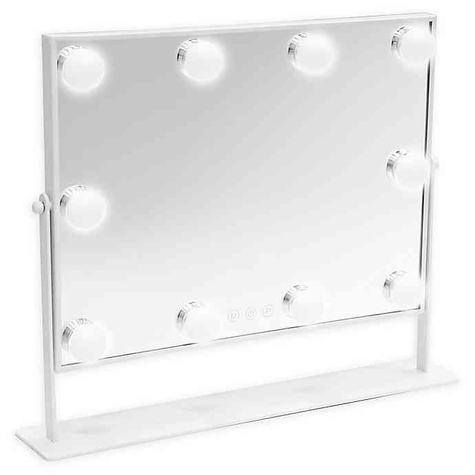 Danielle Hollywood 1x Led Large Makeup Mirror Bed Bath Beyond