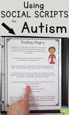 How to use social scripts to increase positive behaviors in your classroom. http://www.thepathway2success.com/using-social-scripts-for-autism/
