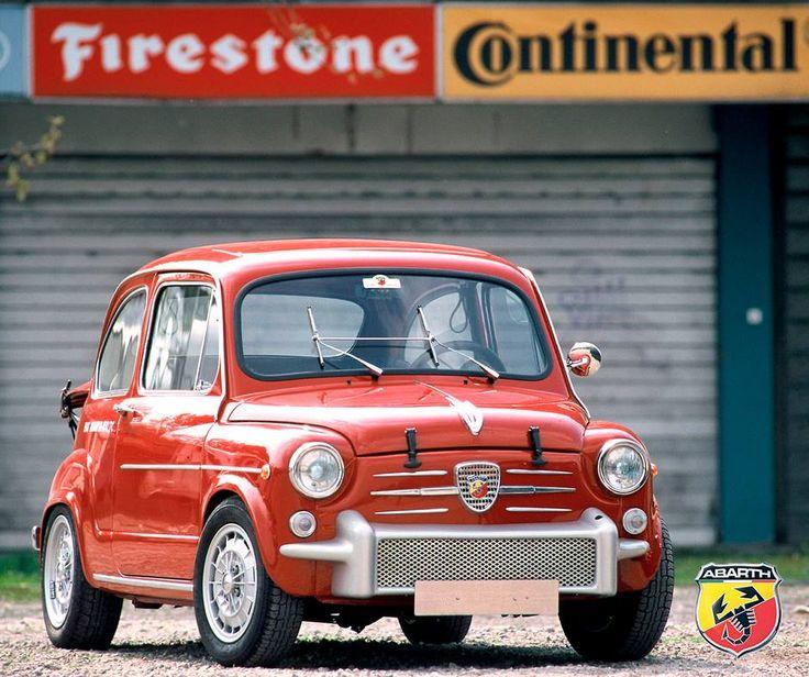 Piękny kawałek historii Abarth - Fiat 850 TC Abarth. Warty lajka?