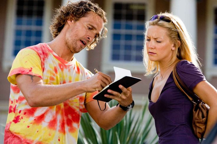 Fools' Gold Summer movie with Kate Hudson in great, natural summer makeup.