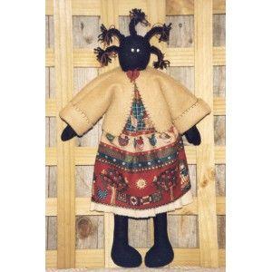 Cassie golliwog girl pattern