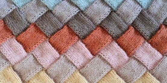 a whole knit stitch library by bretay