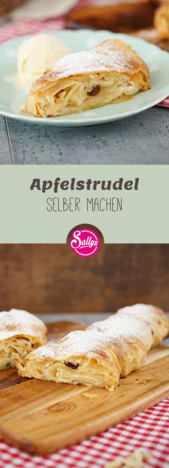 Mit diesem Rezept gelingt euch der Apfelstrudel garantiert! Warm aus dem Ofen schmeckt der Apfelstrudel am besten!