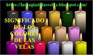 grahasta-VELAS MAGICAS: Significado de los colores de las velas