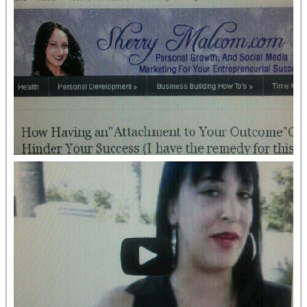 I'm baaaack! See the latest video post on Sherrymalcom.com and learn how attachments to an outcome can hinder your grow in relationships and business building.  #success  # business  #networkmarketing #internetmarketing #blog #youtube #video #videomarketing #entrepreneur #personalgrowth #personaldevelopment #sherrymalcom