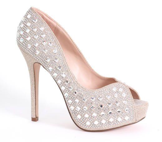 A & L Footwear at Estelle's Dressy Dresses in Farmingdale, NY #shoes #glam #heels #pumps #highheels #sparklyshoes #glitter