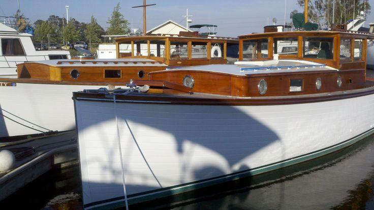 34' 1929 wooden cruiser | Re: Restoring a 1929 Stephens ...