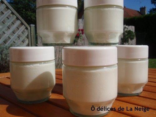 J'adore le lait d'amande, je pourrai en mettre dans toutes mes préparations. Cette fois-ci, je l'ai utilisé pour mes yaourts. Pour 8 yaourts 1 litre de lait d'amande 1 pot de yaourt de lait en poudre écrémé 1 sachet de ferment lactique alsa 2 CS d'édulcorant...