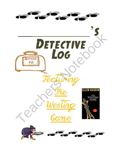 The Westing Game - Mystery & Horror - Questions for Tests and Worksheets