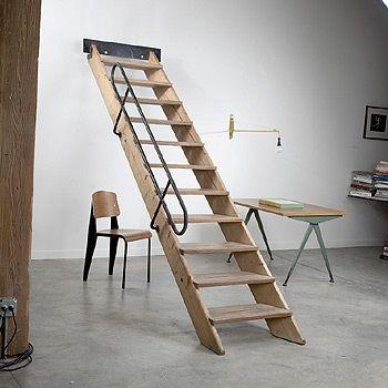 Escalier par Jean Prouvé