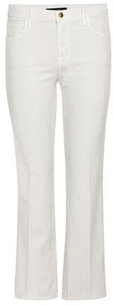 J Brand Selena Mid-rise Cropped Corduroy Trousers