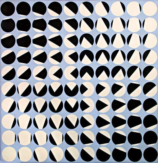 Garcia Rossi, Progression - 1959