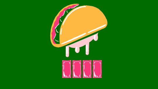 Passaro TacoEmoji GIF - Hey! This is the GIF I've animated for #TacoEmojiEngine - You just need to tweet (taco emoji) + (cow emoji) on IOS to @tacobell