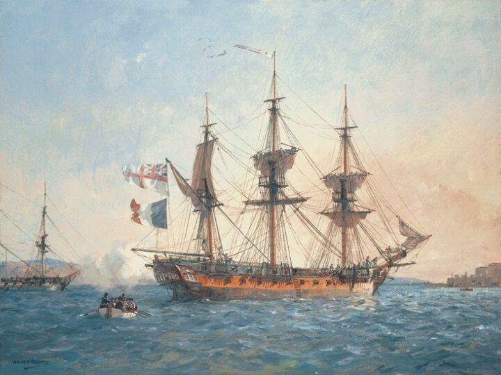 Парусники, флот, корабли