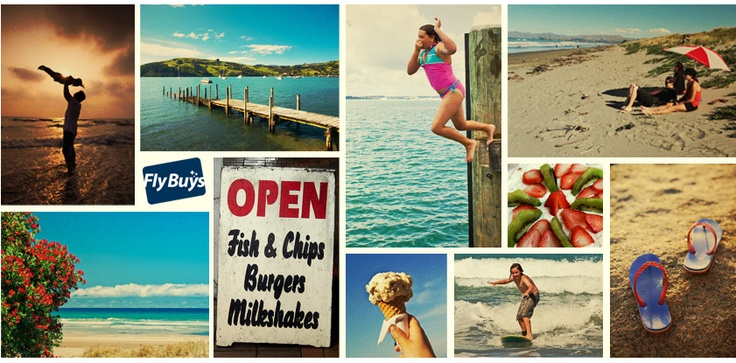 We're back from a great Kiwi summer holiday! Here's what summer means to us :-)
