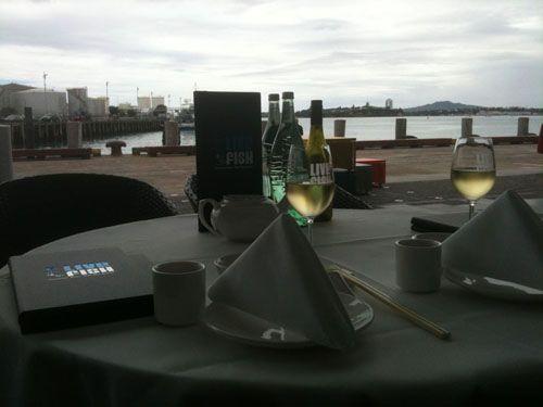 LiveFish table #kwihospo #LiveFish #KiwiRestaurants