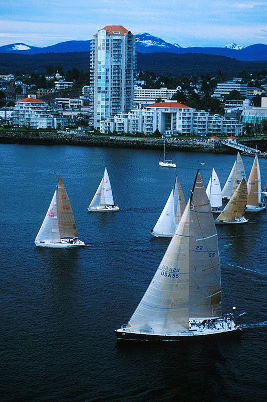 Van Isle 360 Yacht Race starts in Nanaimo, Vancouver Island, British Columbia, Canada   by BCVacation
