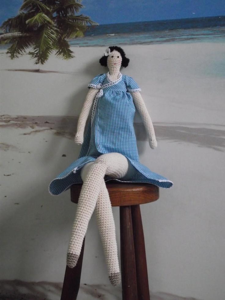 tilda doll: Crochet Dolls, Tilda Dolls