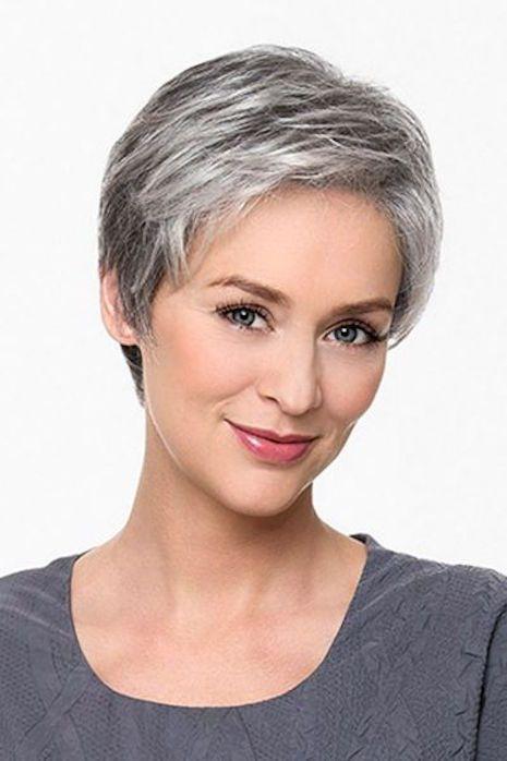 21 Impresionante Gris peinados para las mujeres - http://losmejorespeinados.com/21-impresionante-gris-peinados-para-las-mujeres/