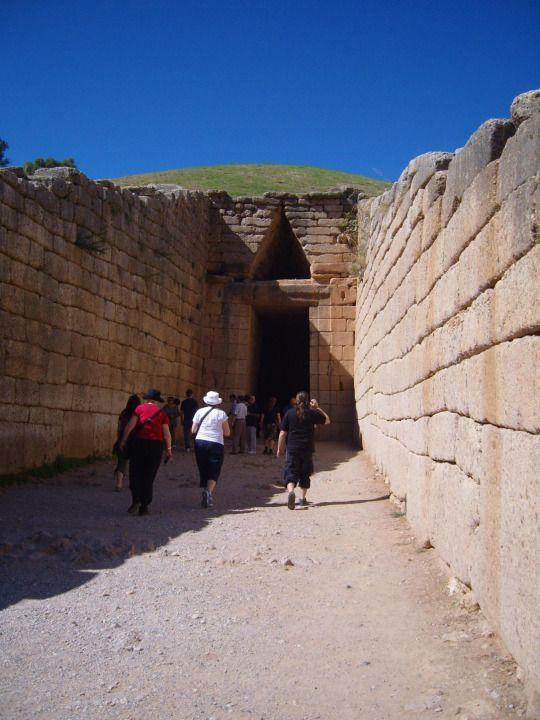 Tomb of Agamemnon, Mycenae