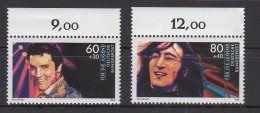 BRD / Jugend: Idole der Rock- und Popmusik / MiNr. 1361, 1363    Zu verkaufen auf Delcampe