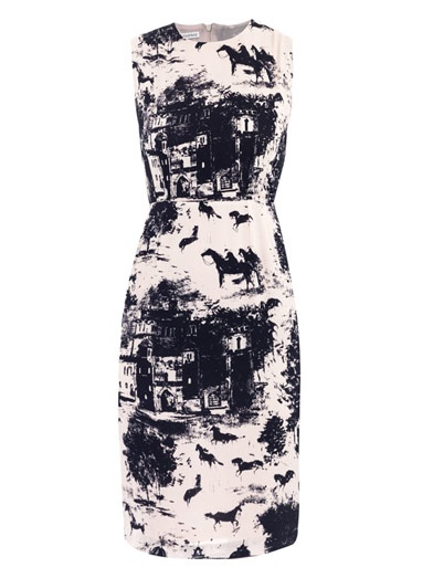 Emilia Wickstead Corey Horse Print dress...gorgeous, show stopping  elegance...must have
