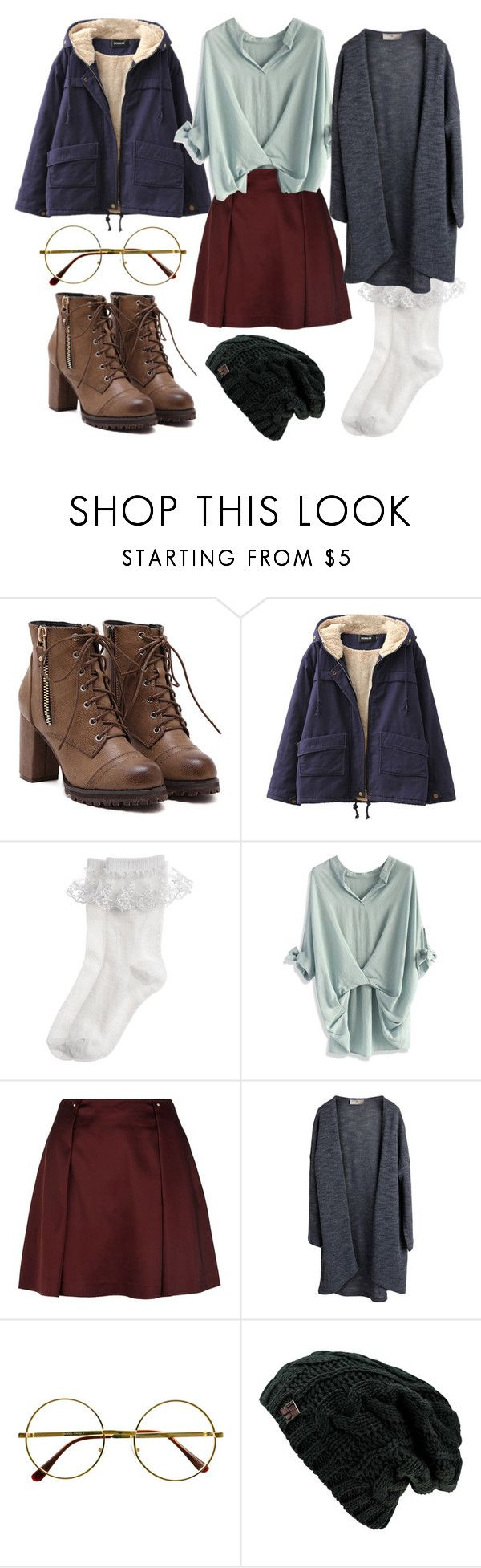 """""""Boys Over Flowers - Winter"""" by haruhii ❤ liked on Polyvore featuring Chicnova Fashion, Monsoon, Chicwish, Reiss, Pieces and Retrò"""