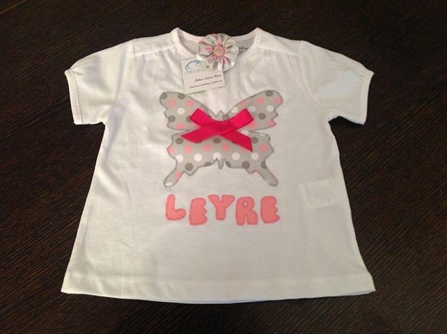 Camiseta personalizada para Leyre www.cottonlima.com