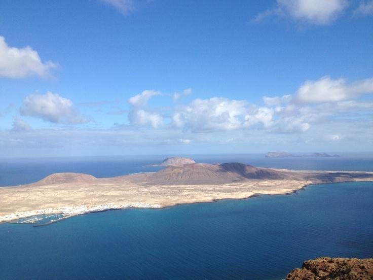 Isla de La Graciosa desde el Mirador del Río