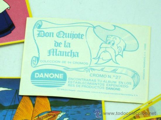 Cromos De Don Quijote, Danone