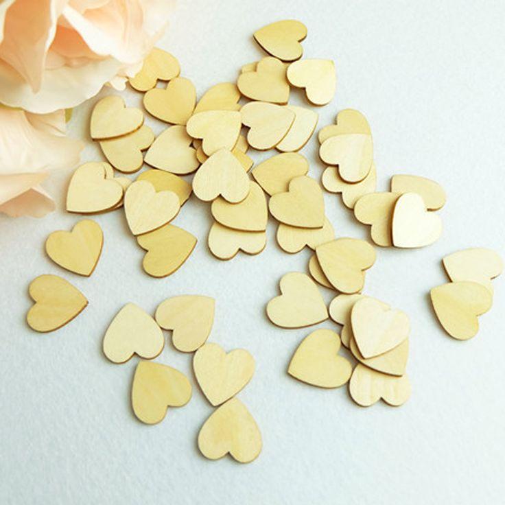 3cm( 150pcs/partij) hout hart liefde ongeïsoleerde onafgemaakte natuurlijke ambachten levert bruiloft ornamenten(China (Mainland))