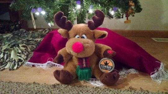 Marty Christmas Moose like Cowboy Coffee Chew