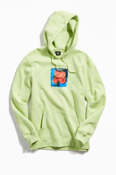 fa981f941 Stussy Hibiscus Hoodie Sweatshirt in 2019 | clothes✹ ✹ | Stussy ...