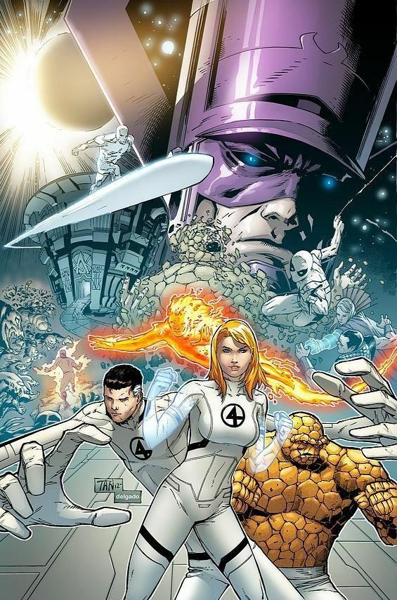 Fantastic Four White Suits Fantastic Four Marvel Mister Fantastic Marvel Comics