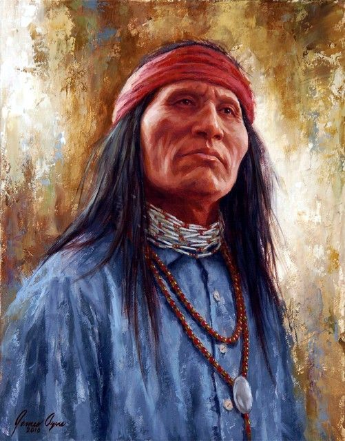 Apache Pride - by James Ayers
