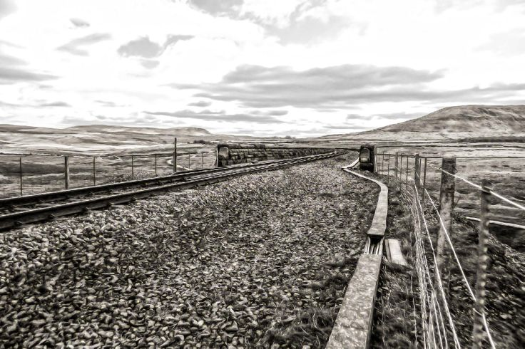 Taken at the top of the embankment looking south along the Ribblehead Viaduct, North Yorkshire. More of my pictures and information can be seen at, www.colingreenphotography.blogspot.co.uk
