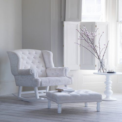 Luxurious Bambizi nursing chair a must have for babys nursery... http://bellaminababy.co.uk/opulence-rocking-chair-171-p.asp