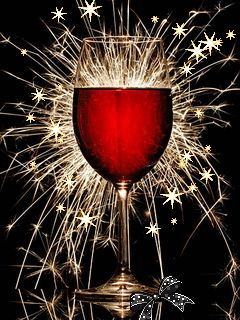 Red wine and a New Year gifs gif cool images new years new year gifs 2015