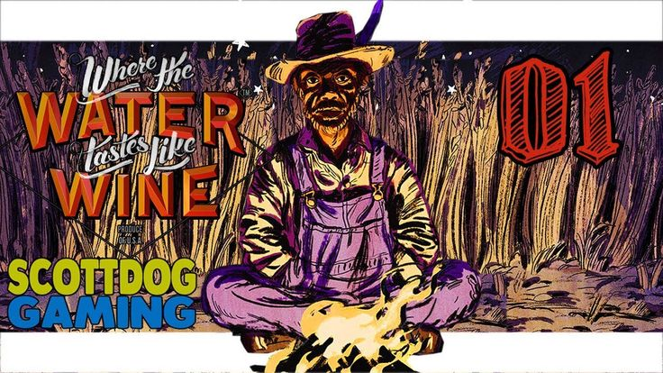 Where The Water Tastes Like Wine -  An RPG Storyteller Game LiveStream 1 ScottDogGaming - Where The Water Tastes Like Wine -  An RPG Storyteller Game LiveStream 1 ScottDogGaming  Where the Water Tastes Like Wine is a Narrative-Adventure game about traveling sharing stories and surviving manifest destiny. Featuring gorgeous hand-drawn illustrations Where the Water Tastes Like Wine combines 2D visuals with a 3D overworld US map.  Players wander across a folkloric Depression era United States…