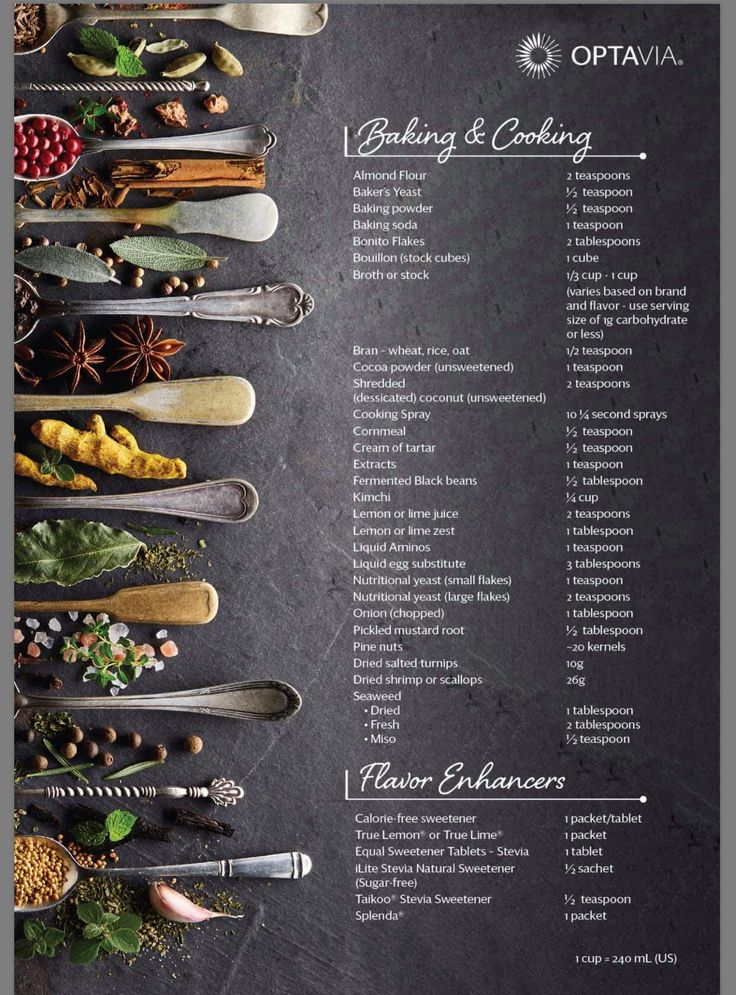 Baking And Cooking Guide. #optavia