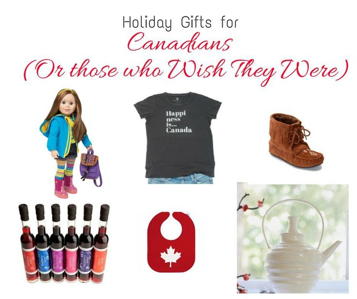 Canadian Made Holiday Gift Guide - gifts that are made in Canada! Support local Canadian businesses this Christmas!