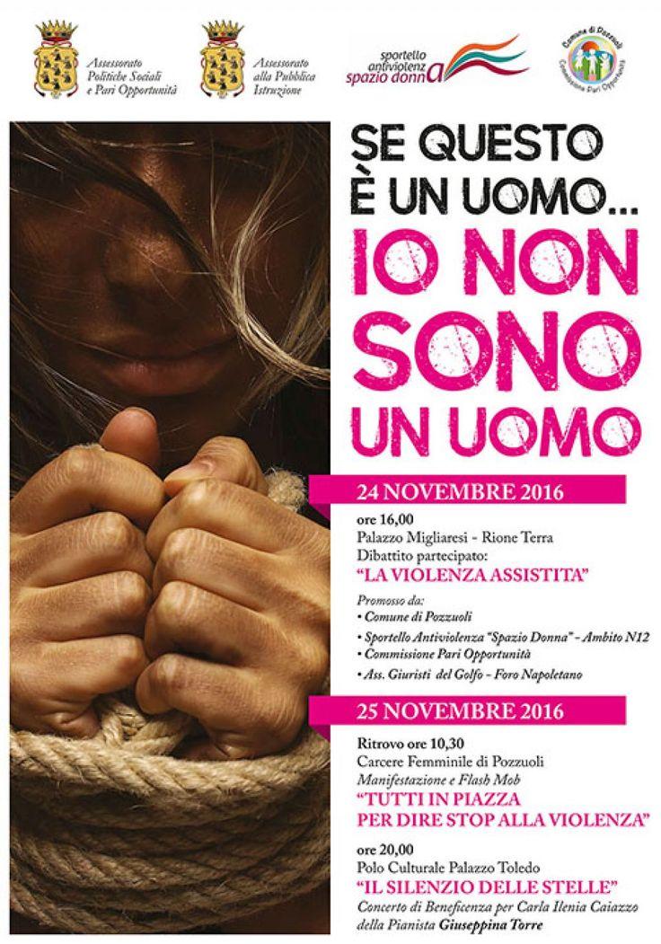 Pozzuoli, due giorni di eventi per la Giornata contro la violenza sulle donne