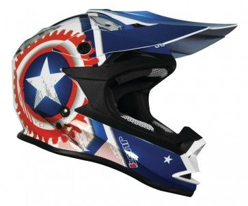 JUST 1 J32 Merica Mens Off Road Dirt Bike Motocross Helmets