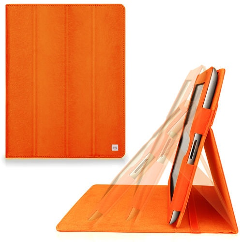 CaseCrown Omni Ridge Flip Case for iPad 4th Generation iPad 3 2 Orange | eBay