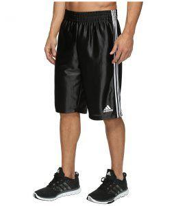 adidas Basic Shorts 4 (Black/White) Men's Shorts